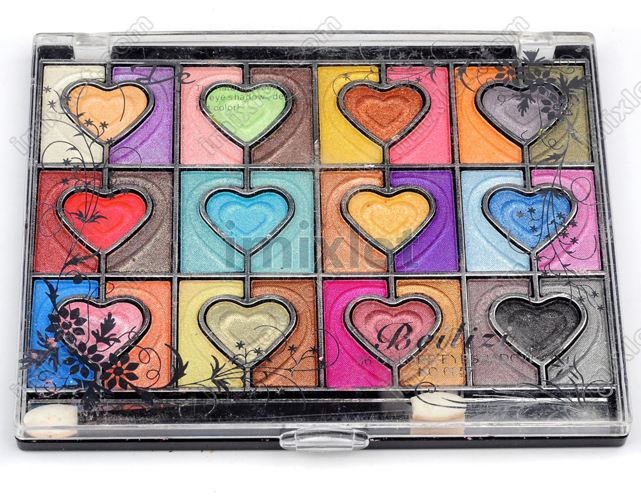 Factory Price Free Shipping 12pcs/lot 24Colors Eyeshadow Women eye Cosmetics Wholesale(China (Mainland))