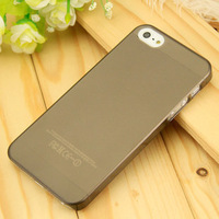 Slim line 0.2mm case for Iphone 5 The refreshing simple and type Toughness hardshell