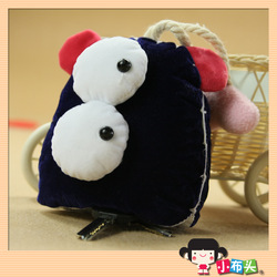 cloth finished products andy key wallet function doll finished product handmade velvet(China (Mainland))