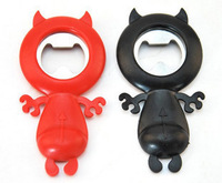 Free shipping,5pcs/lot Little devil bottle opener random color
