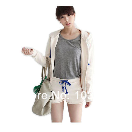 Summer Women Girls Trendy Slim Fit Mini Casual Cotton Shorts Hot Pants Free Shipping Colors Option(China (Mainland))