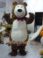 2326 brown bear russia   hot sale, free ship , Mascot Costume, cartoon , Halloween cosplay Dress
