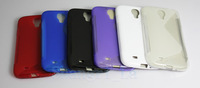 Abrasion TPU Skin Soft Gel Case Cover for Samsung Galaxy S4 i9500 Wholesale 10pcs/lot Free shipping