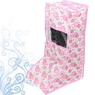Unique small flower boots shoes storage bag cover folding storage bag