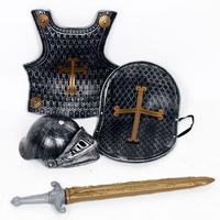 Halloween child costume armor dragon knight armor  4 pcs/set Children's favorate