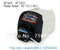BT101L Wholesale Precise flow control / intelligent peristaltic pump  water liquid industry laboratory /YZ15 Pump head