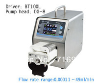 BT100L Wholesale Precise flow control / intelligent peristaltic pump  water liquid industry laboratory /DG10-8(10 rollers)