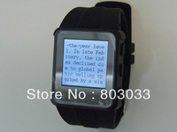 Free Shipping Q668   mp4 watches 2GB with alarm button