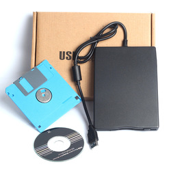 Free shipping Wholesale Usb floppy drive external usb floppy drive card reader usb floppy drive floppy disk(China (Mainland))