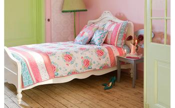 Endomorph mmk room seven bell 100% cotton home textile flat piece stripe set child bedding