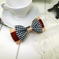 Hair accessory handmade bow hair accessory hairpin headband preppy style