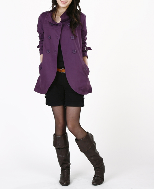 2012 HOT SALE Plus size clothing 2012 fashion mm spring and autumn short coat design lb-46 oversized(China (Mainland))