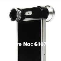 1pcs/lot,HOT SELLING Fish eye Wide-Angle Macro lens 3 in 1 lens for iPhone5 iPhone 5,Valentine's gift