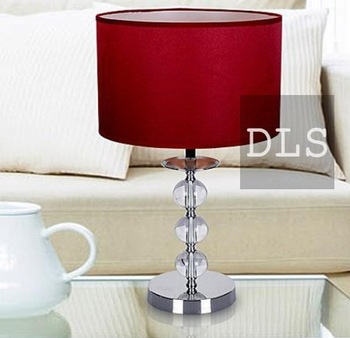 FREE SHIPPING  Table Lamps Modern red new anniversary present living room lighting ideas tunable optical crystal