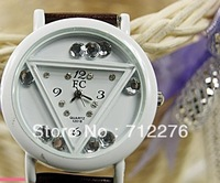 2013 Cartoon watch classic men's lady's imitation leather watch cartoon design fashionable special offer wholesale