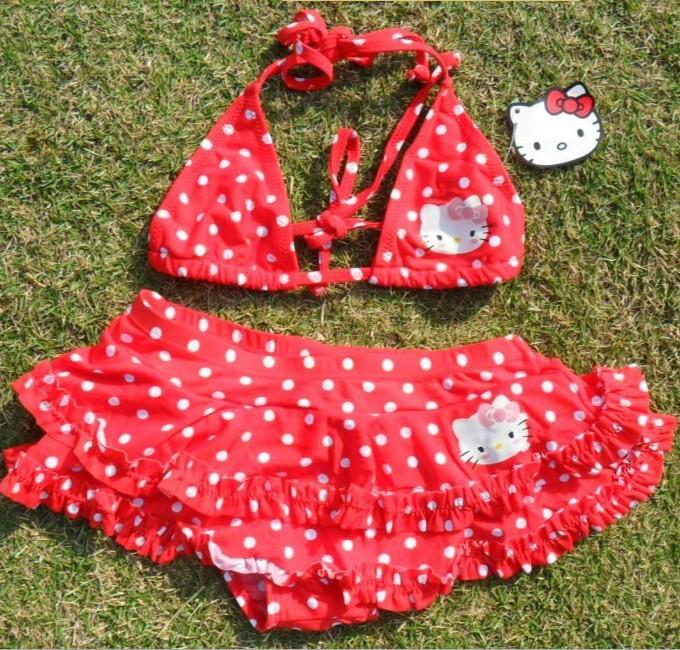 Azulejos Para Baños Hello Kitty:conjunto-traje-de-baño-niños-ropa-de-playa-hello-kitty-baby-niña-de