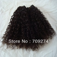 6A Grade Cheap Wholesale Unprocessed Malaysian Virgin Hair tight curly Hair DHL free ship