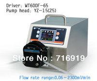 WT600F-65 Retail Precise dispensing/dispenser intelligent peristaltic pump water liquid industry /2XYZ15 Pump head (IP65)