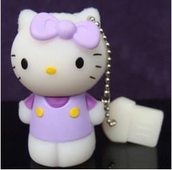 2014 HOT Hello Kitty USB Flash Drive Disk 4GB 8GB 16GB 32GB 64GB Free Shipping