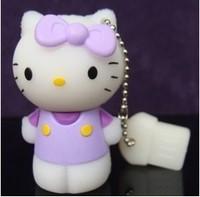 2014 HOT Hello Kitty USB Flash Drive Disk 4GB 8GB 16GB 32GB 64GB Free Shipping