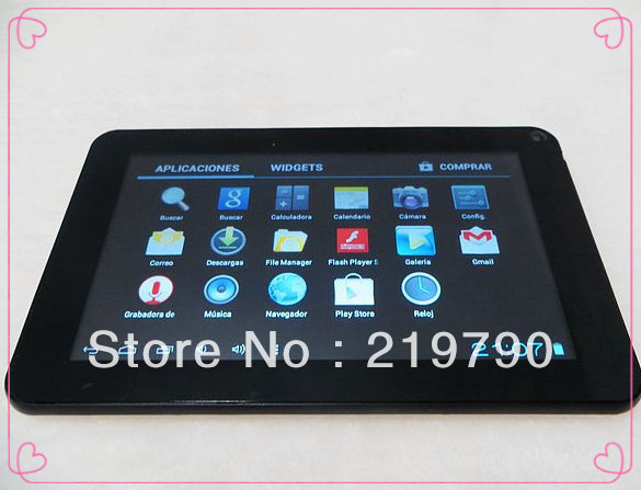 best quality Tablet PC Allwinner A710 Android 4.0 dual Cameras 60pcs/lot free shipping(China (Mainland))