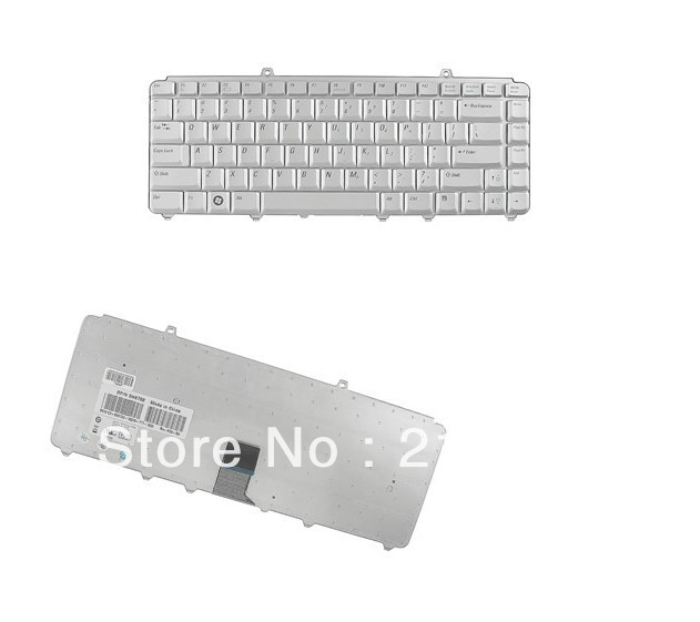 NK750 for 1525 1520 1521 XPS M1530 Genuine Silver Keyboard TESTED With Warranty free shipping(China (Mainland))