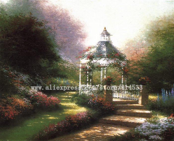 Thomas Kinkade Original Paintings