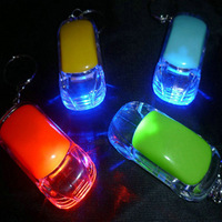 Car led lights keychain light-up toy gift boys and girls toy
