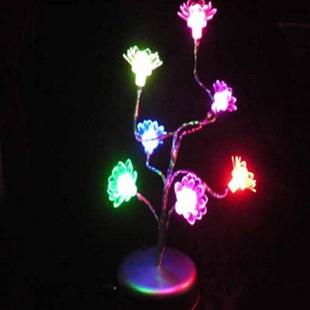 Light-up toy flash lotus decoration supplies night market(China (Mainland))