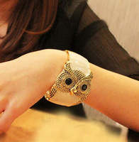Min. order is $15 (mix order) Aq0951 vintage trend mix match owl bracelet female