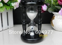Dining room 15 minutes timer wooden hourglass birthday creative decoration gift free shipping