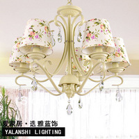 European Garden hanging lamp room lighting restaurant droplight romantic bedroom Chandelier