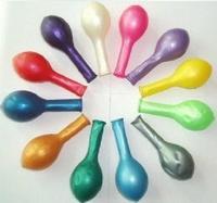 Wholesale  Latex Balloon 10 Inches Round Pearl Balloons, Wedding Balloons, 100PCS/lot 1.2g/pcs  Free Shipping
