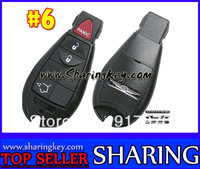 % 100 Free Shipping  Blank Cover For  Chrysler Dodge Jeep Fobik Keyless  Entry Remote  Key FOB Shell 3 Button #6 Hot Item