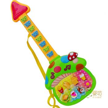 free shipping Electronic music guitar electronic piano music toy electronic guitar toy guitar 0400