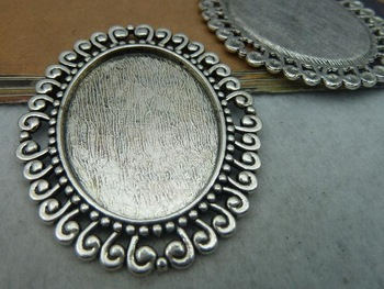 Min order is $15(Mixed order ) 3pieces/LOT 47mmx57mm antique silver base charm