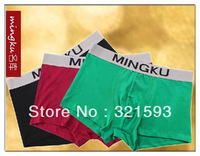 Free Shipping,2013 New arrival classic   sex  men boxer and underwears, comfortable  breathable U convex design , 100% cotton