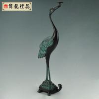Antique bronze device ganoderma lucidum business gift chinese style home decoration unique antique