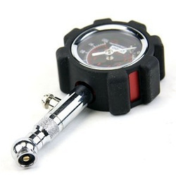 Free shipping Coido 6075 high precision car tire pressure gauge tire pressure table tyre table 6075(China (Mainland))