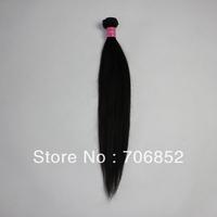 Mixed lot 4 pcs lot 10 12 14 16 18 20 22 24 26 28 30 cheap virgin indian human hair weave straight natual color 4A hair weaving