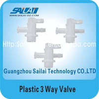 printer plastic cleaning 3 way valve