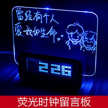 Usb clock message board Christmas gift birthday gift diy gift