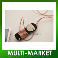Free shipping/Cute Boy/Girl wrap cable wire tidy earphone winder Organizer holder for headphone MP3, MP4 Ipod