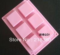 Diy handmade soap silica gel mould square soap fangzhuan 5 5 2.5cm 50 soap