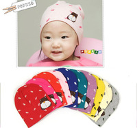 ``Discontinuing bear wigs pocket hat baby hat autumn and winter hat baby 100% cotton hat tire cap