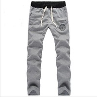 Free Shipping Man's Casual Sports Pants Casual Trousers  Plus Size  M-XXL Black/Gray/Blue/Wine Red PT-031