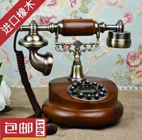 Fashion fashion antique telephone vintage telephone caller id phone fitted rustic