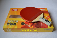 Guaranteed 100% DHS DOUBLE HAPPINESS SPORTS 3006/3002 TABLE TENNIS RACKET PING PONG PADDLE 3 STARS