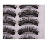 10 Pairs Thick False Fake Eyelashes Eye Lash Make Up set Eye Extension