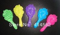 doll accessories,plastic comb, dll comb, flower comb, 100pcs/lot